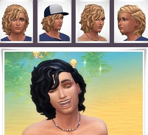 Logan Hair sims 4 cc