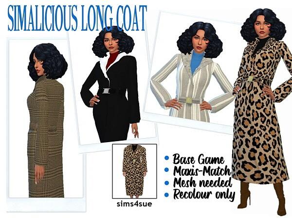 Long Coat sims 4 cc
