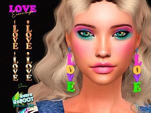 Love Earrings sims 4 cc