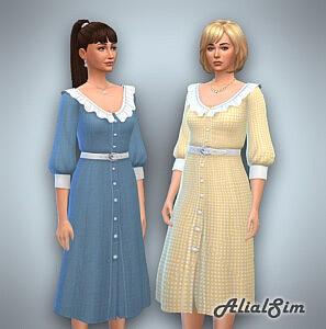 Love Letter Dress sims 4 cc