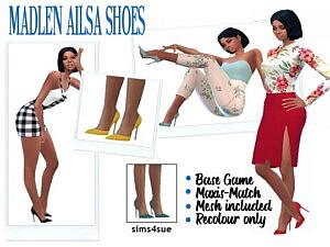 MADLENS AILSA SHOES sims 4 cc