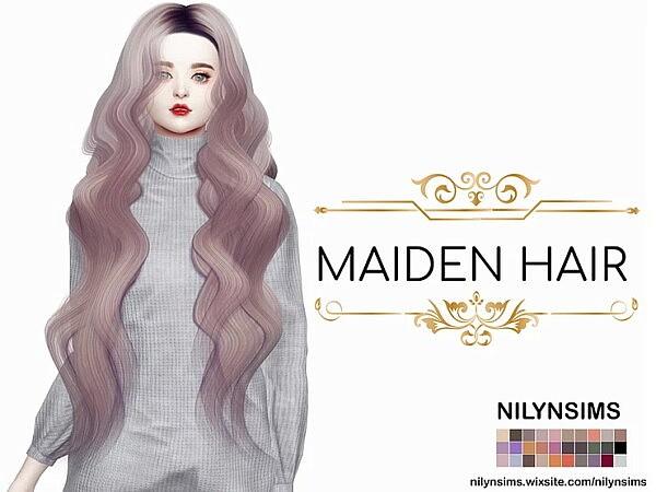 Maiden Hair sims 4 cc