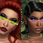 Malika glasses sims 4 cc