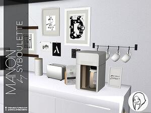 Manon Kitchen set sims 4 cc1