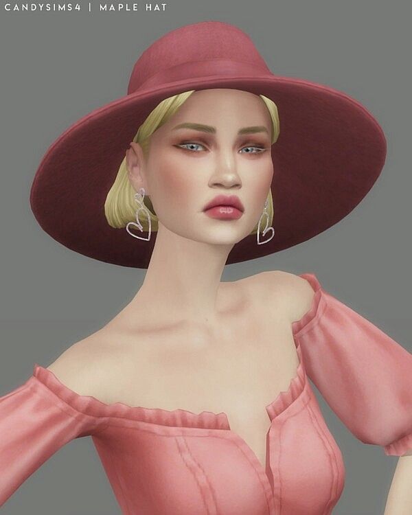 Maple hat sims 4 cc