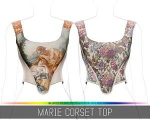 Marie Corset sims 4 cc