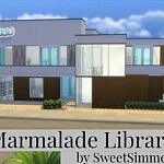 Marmalade Library sims 4 cc