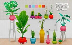Maxsus plant life kit sims 4 cc