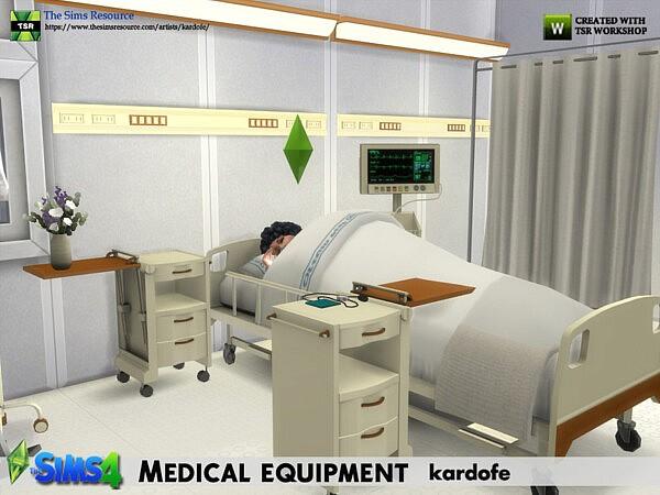 Medical equipment sims 4 cc