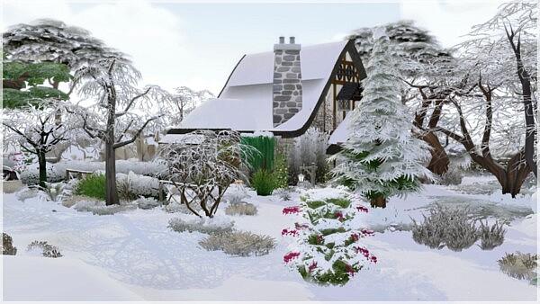 Medieval Cottage sims 4 cc