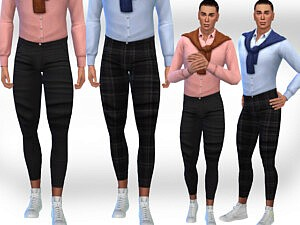 Men Fit Pants sims 4 cc