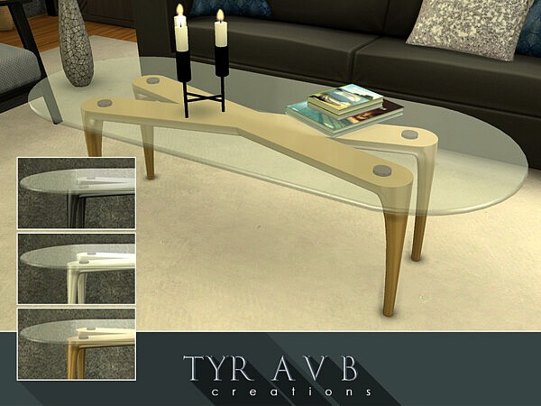Metal Coffee Table sims 4 cc