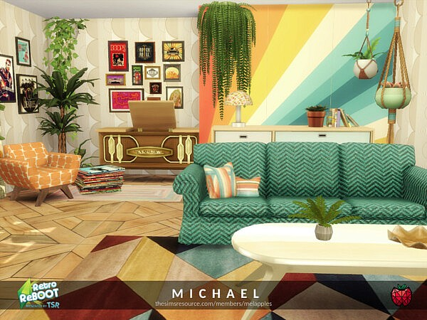 Michael living sims 4 cc