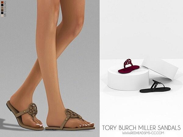 Miller Sandals sims 4 cc