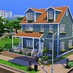 Milton House sims 4 cc