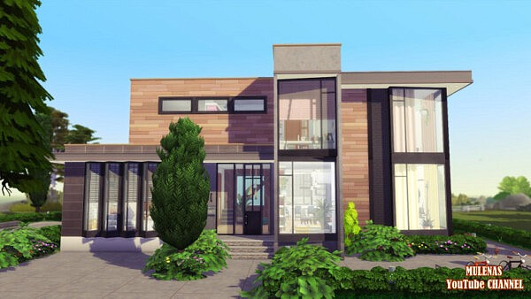 Modern home from Sims 3 by Mulena