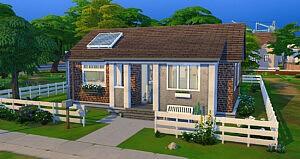 Modest Housing sims 4 cc
