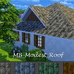 Modest Roof sims 4 cc