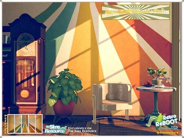 Murals Part 1 sims 4 cc