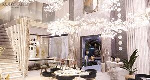 Muse Restaurant sims 4 cc