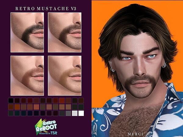 Mustache V3 sims 4 cc