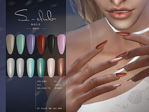 Nails 202105 sims 4 cc
