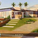 Nancy House sims 4 cc
