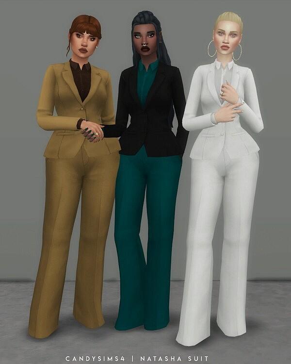 Natasha Suit sims 4 cc