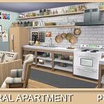 Neutral Apartment sims 4 cc
