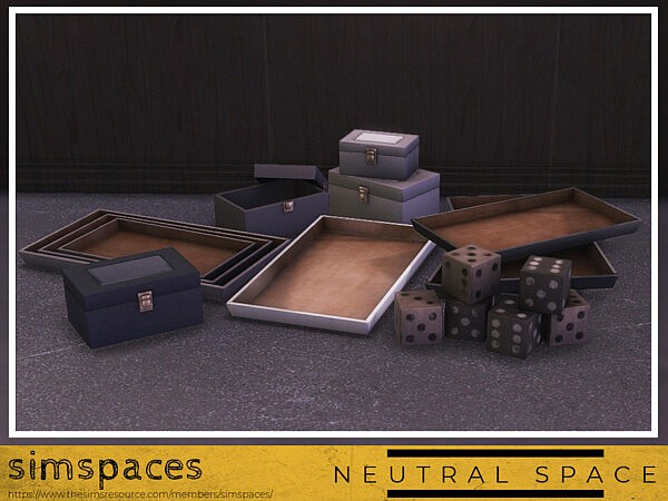 Neutral Space Fillers sims 4 cc
