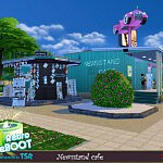 Newsstand cafe sims 4 cc