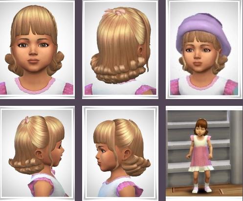 Niamh Hair sims 4 cc