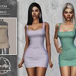 Noemi Dress sims 4 cc
