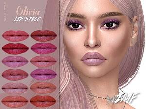 Olivia Lipstick sims 4 cc