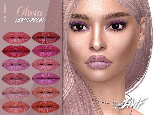 Olivia Lipstick N.326 by IzzieMcFire from TSR