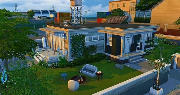 Open view house sims 4 cc
