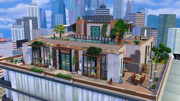 Overlade Villa sims 4 cc