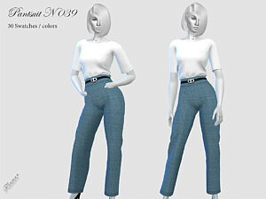 Pant Suit N 39 sims 4 cc