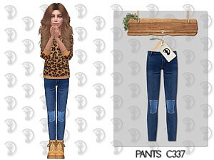 Pants C337 sims 4 cc