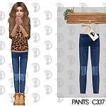 Pants C337 sims 4 cc1