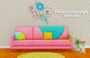 Paranormal sofa sims 4 cc