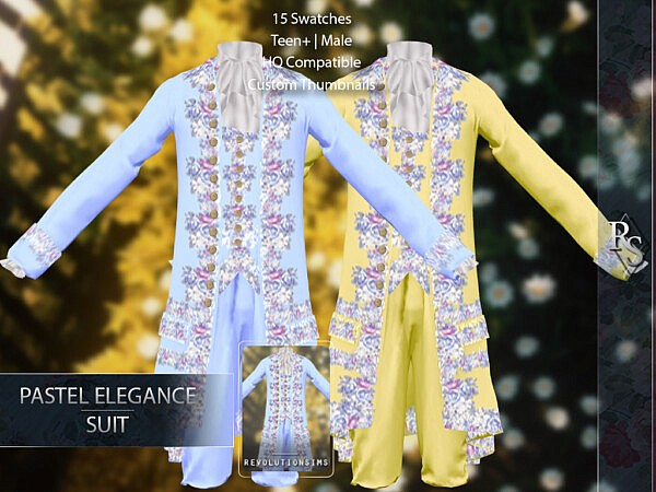 Pastel Elegance Suit from Revolution Sims