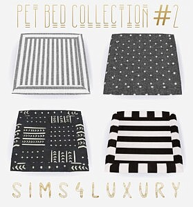 Pet Bed Collection 2 sims 4 cc