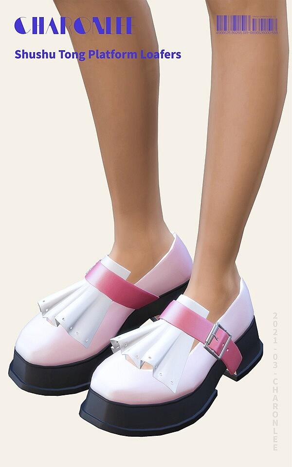 Platform Loafers sims 4 cc