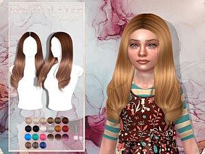 Queens Layer Child Hair sims 4 cc