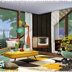 RITA Living Room sims 4 cc