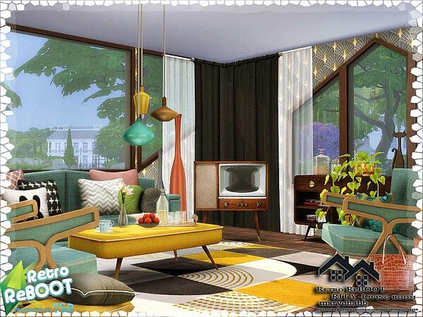 RITA Living Room by marychabb from TSR