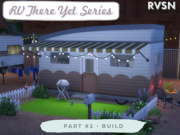 RV There Yet Series Build sims 4 cc