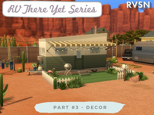 RV There Yet Series Decor sims 4 cc