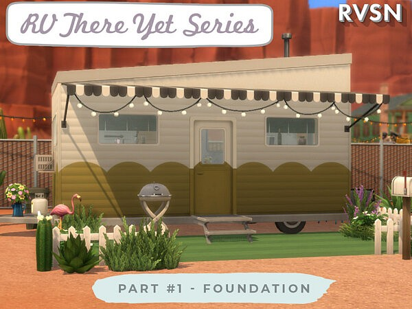RV There Yet Series Foundation sims 4 cc